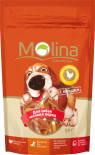 Лакомство для собак Molina Косточка с вяленой Курицей 50г