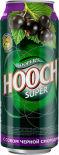 Напиток Hooch Super Черная Смородина 7.2% 0.5л