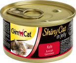 Корм для кошек GimCat ShinyCat из цыпленка 70г