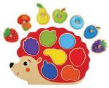 Игрушка Mapacha Вкладыши Ежик Изучаем цвета