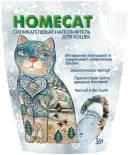 Наполнитель для кошачьего туалета Homecat Мороз 3.8л