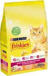 Сухой корм для кошек Friskies с курицей и овощами 1.5кг