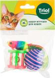 Набор игрушек для кошек Triol XW7029