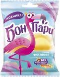 Мармелад Бон Пари жевательный Страна фламинго фигурный со вкусом фруктов 100г