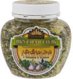 Соль Вкусная Соль с чесноком и зеленью с пряностями и овощами 400г