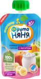 Пюре ФрутоНяня Яблоко Груша Банан Персик с йогуртом 90г