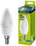 Лампа светодиодная Ergolux LED E14 11Вт