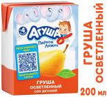 Сок Агуша Груша 200мл