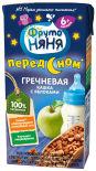 Каша ФрутоНяня Молочно-гречневая с яблоками с 6 месяцев 200мл
