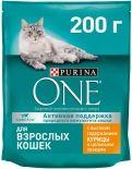Сухой корм для кошек Purina One с курицей и цельными злаками 200г