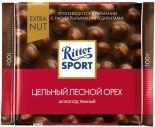 Шоколад Ritter Sport Темный Цельный лесной орех 100г
