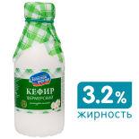Кефир Залесский фермер Фермерский 3.2% 500мл