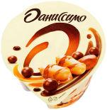 Йогурт Даниссимо Deluxe Арахисово шоколадный микс 2.9% 136г