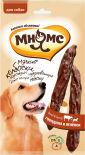 Лакомство для собак Мням Мнямс мягкие колбаски с говядиной и ягненком 70г