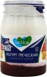 Йогурт Lactica Греческий двухслойный с инжиром и курагой 3% 190г