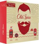 Подарочный набор Old Spice Дезодорант-антиперспирант Rock with Charcoal 50мл + Средство для мытья бороды 225мл + Бальзам для бороды 150мл