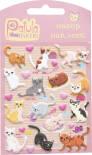 Наклейки Yiwu onccc Patula Stickers Кошки мягкие в ассортименте