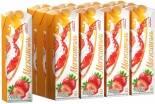 Напиток молочно-соковый Мажитэль Клубника 950г