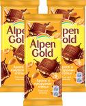 Шоколад Alpen Gold Молочный Арахис и кукурузные хлопья 85г
