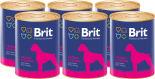 Корм для собак Brit Сердце Печень 850г