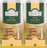 Чай зеленый Ahmad Tea Milk Oolong 25 пак