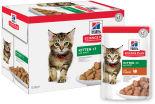 Влажный корм для котят Hills Science Plan Kitten с индейкой 85г