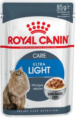 Корм для кошек Royal Canin Ultra Light Мясо в соусе 85г
