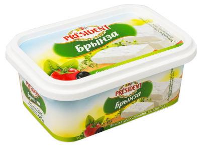 Сыр President Брынза 45% 250г