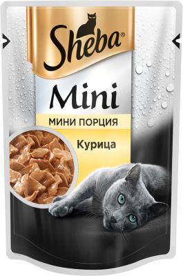 Корм для кошек Sheba c Курицей 50г