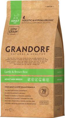 Сухой корм для собак Grandorf Adult mini Ягненок с рисом 1кг