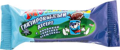 Десерт глазированный Сыркофф Мультяшки с вареной сгущенкой 40г