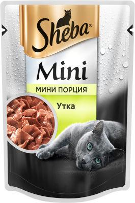 Корм для кошек Sheba с Уткой 50г