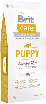Сухой корм для собак Brit Care Ягненок с рисом для щенков 12кг