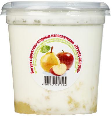 Йогурт ЦарКа Груша Яблоко 3.5% 400г
