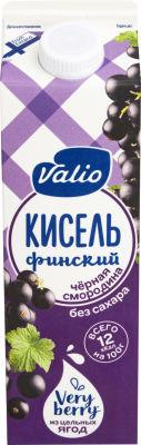 Кисель Valio Черная смородина 950г
