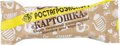 Сырок глазированный Ростагроэкспорт Картошка 20% 40г