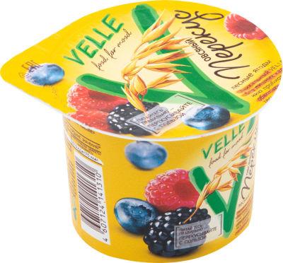 Продукт овсяный Velle Перекус Лесные ягоды 140г