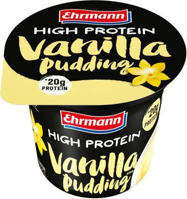 Пудинг Ehrmann High Protein со вкусом ванили 1.5% 200г