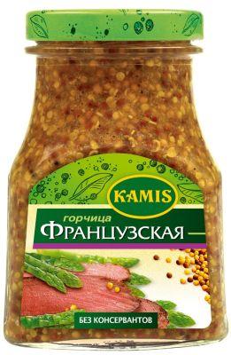 Горчица Kamis Французская 185г